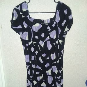 Tops - 🌵Purple &black  blouse